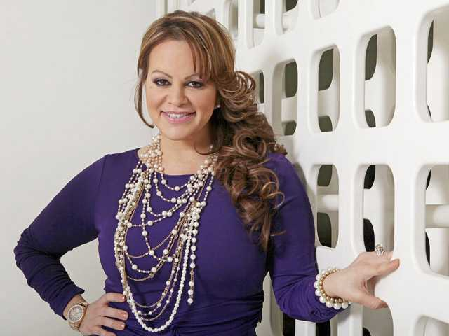 Mexican-American singer and reality TV star Jenni Rivera poses during an interview in Los Angeles.
