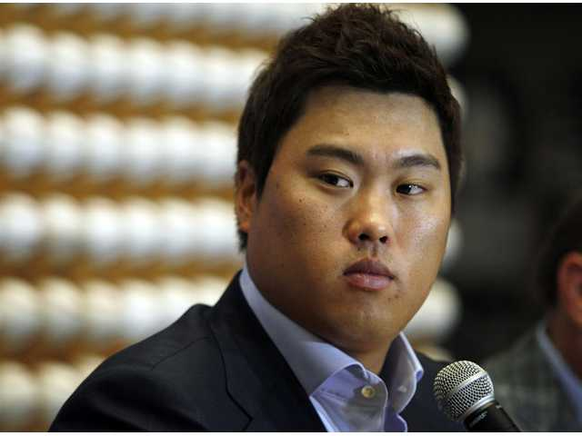 MLB: Dodgers sign South Korea pitcher Ryu to deal