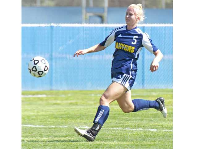 College of the Canyons' Brittney Sayre was named to the All-Western State Conference, South Division first team.