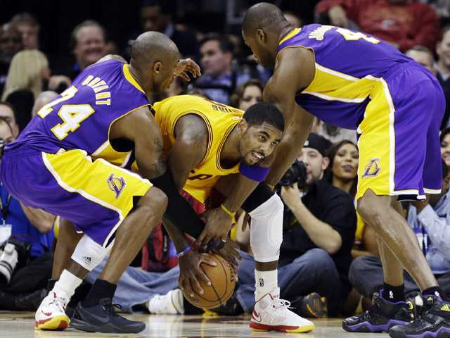 NBA: Lakers baffled by Cavs