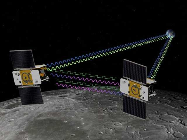 Twin NASA spacecraft prepare to crash into moon
