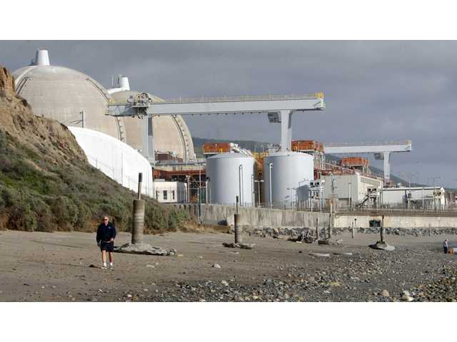 The San Onofre nuclear power plant in north San Diego County, Calif.