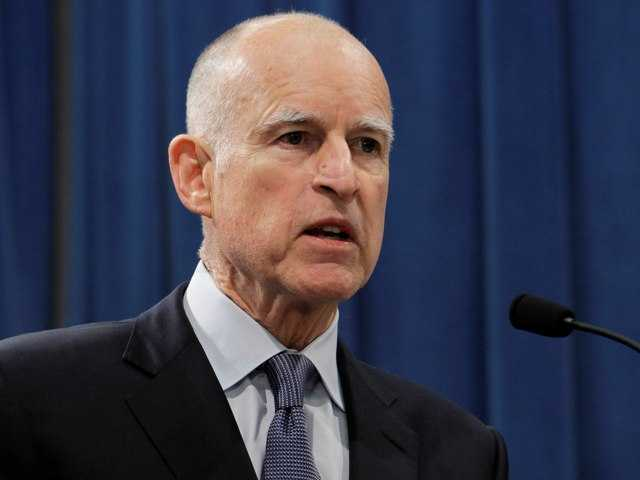 Gov. Jerry Brown speaks at a news conference Nov. 7. On Thursday he saidhe is wary of expanding Medi-Cal as the state implements federal health reform.