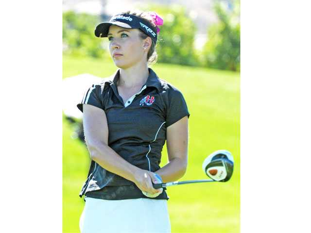 Hart's Jamie Corr becomes the fifth Indians' golfer in past three years to commit to a D-I collegiate program. She accepted a scholarship offer to Cal Poly San Luis Obispo this month.