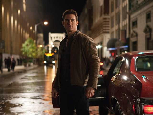 "This publicity film image released by Paramount Pictures shows Tom Cruise in a scene from ""Jack Reacher."""