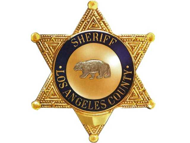 This just in from the Santa Clarita Valley Sheriff's Station