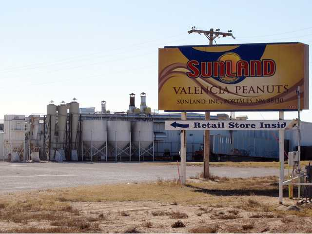 The Sunland Inc. peanut butter and nut processing plant in eastern New Mexico, near Portales, has been shuttered since late September due to a salmonella outbreak that sickened dozens.