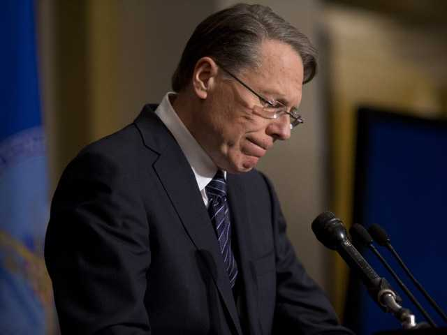 National Rifle Association executive vice president Wayne LaPierre.