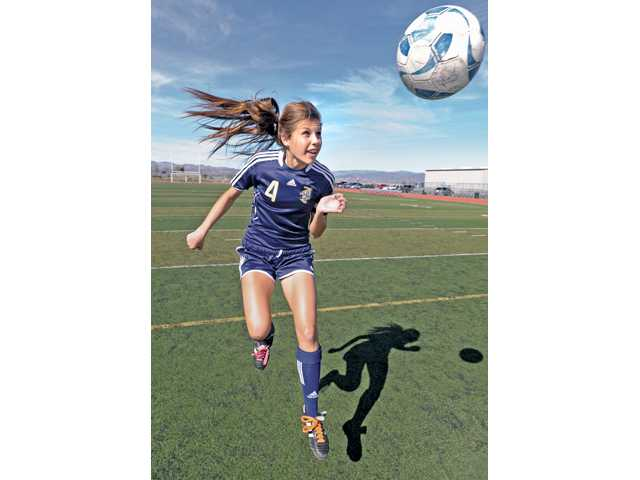 West Ranch girls soccer's Kendall Moskul.