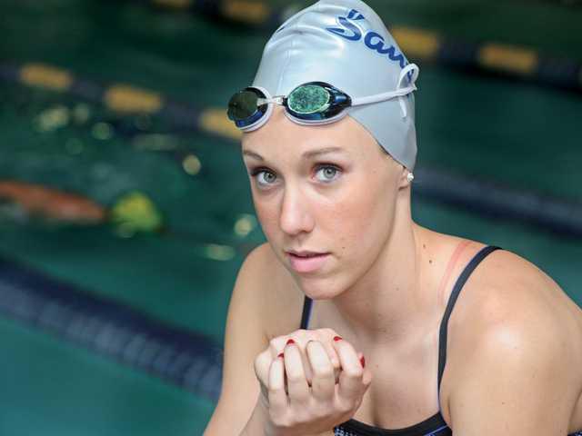 Saugus swim's Abbey Weitzeil