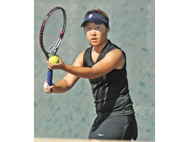 Golden Valley tennis player Rebecca Ho.