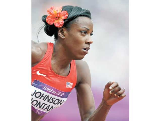 Canyon High graduate and U.S. Olympic track and field runner Alysia Montano.
