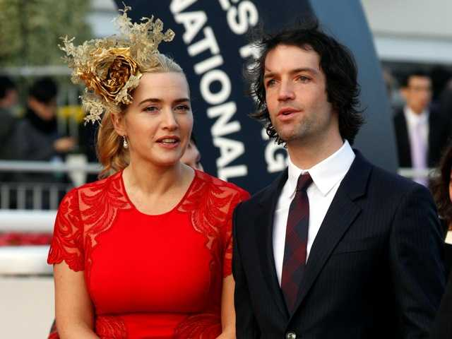 It's husband No. 3 for actress Kate Winslet