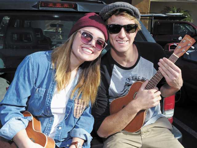 Shayna Mulenger of Canyon Country, left, and Isaac Walker of Canyon Country.