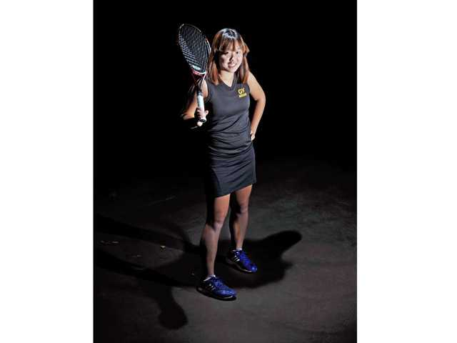 Golden Valley senior Rebecca Ho is The Signal's All-SCV Girls Tennis Singles Player of the Year for the second year in a row.