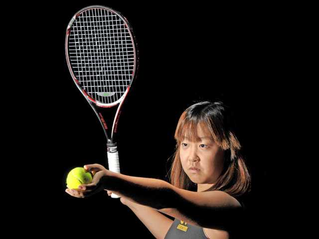 2012 All-SCV Girls Tennis: Rebecca Ho, The greatest Grizzly