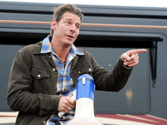 "TV show host Ty Pennington of the """"Extreme Makeover: Home Edition,"" will host a monthly series called ""American Journey."" It will focus on people with unusual lifestyles.:"