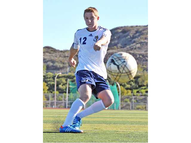 West Ranch senior Justice Rodrigues took a six-month break from playing soccer, the first time he hadn't played since the age of 9. During his time away from the game he kicked for the Wildcats' football team and has scored three goals since returning to soccer.