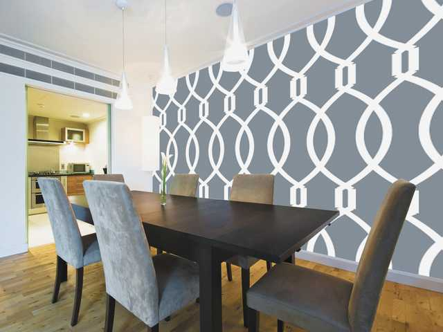 Repositionable wallpaper is a decorating mainstay for 2013, say interior design experts.