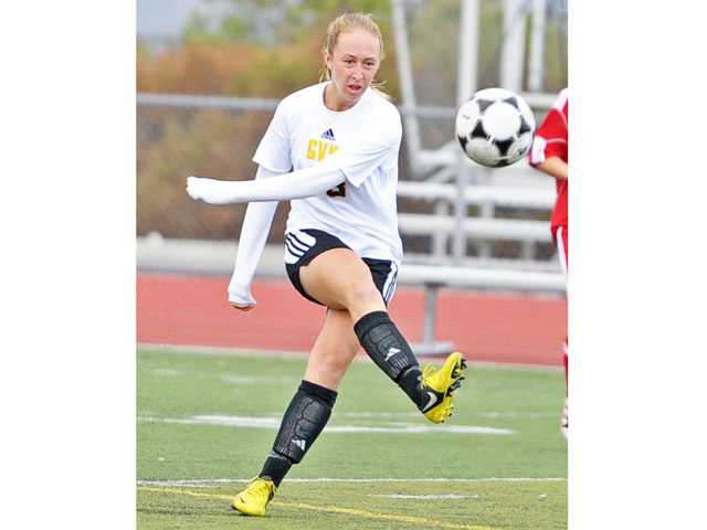 Golden Valley's Colleen Fleming is a consistent offensive threat for Golden Valley.