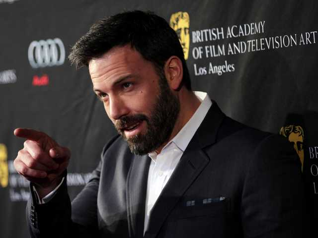 Actor Ben Affleck arrives at the BAFTA Awards Season Tea Party at The Four Seasons Hotel on Saturday, in Los Angeles.