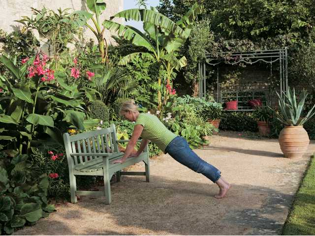 Gardeners can reap fitness