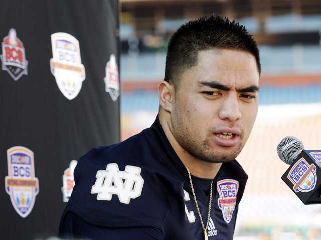 Te'o tells ESPN: Not involved in creating hoax