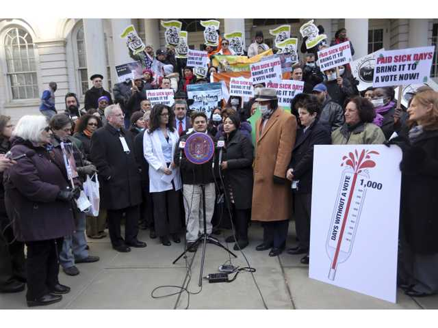 Flu season fuels debate over paid sick time laws