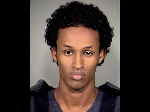 This file image released Nov. 27, 2010, by the Multnomah County Sheriff's Office shows Mohamed Osman Mohamud.