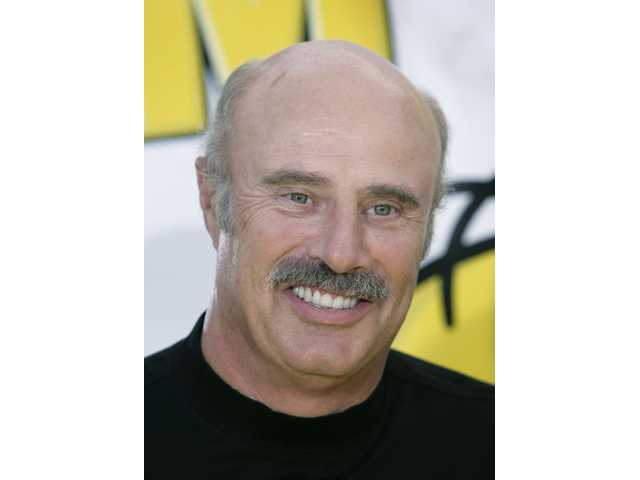Dr. Phil McGraw is shown in Los Angeles.