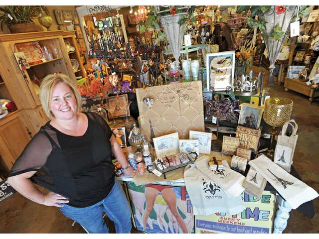 Ede Eichmann, owner/operator of Ma Maison, is relocating her Valencia store to the historic downtown Newhall retail shopping district, saying the vibe fits her merchandise.