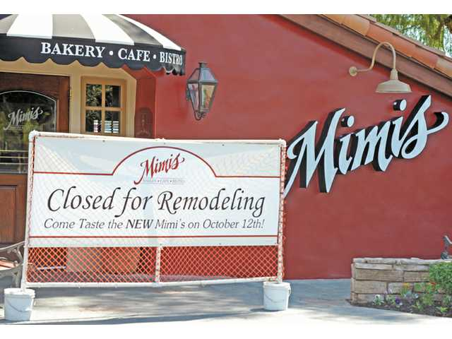 Mimi's café chain was sold to another operator this week. Above, the Santa Clarita restaurant reopened Oct. 12, 2012 after two weeks of remodeling to re-brand the chain.