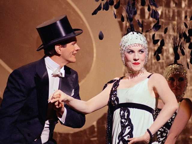 "Actress Julie Andrews, right, is shown doing her first dance sequence, with singer-dancer Garrett Lewis, for the film, ""Star."" Lewis died Jan. 29, at age 77 of natural causes."