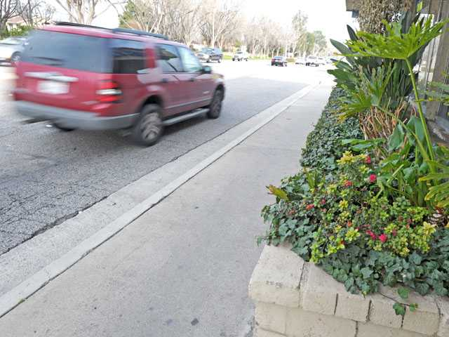 The Lyons Corridor Plan aims to widen sidewalks and improve public landscaping.