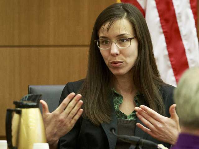 Defendant Jodi Arias describes her relationship with Travis Alexander and answers questions from her attorney.