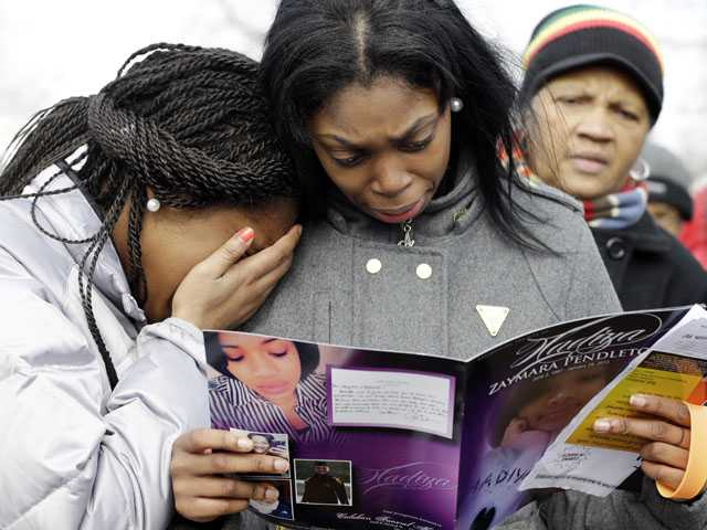 Chicago remembers teen victim of city gun violence