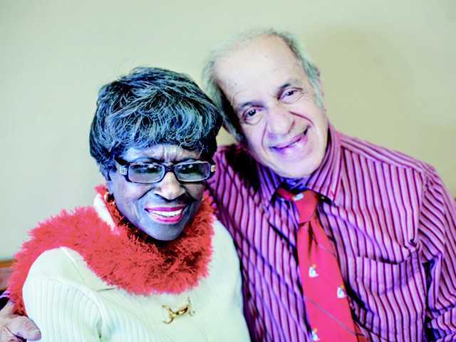Couple finds harmony at center