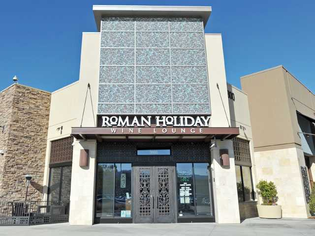 Roman Holiday in The Shops at the Patios at the Westfield Valencia Town Center. (Jonathan Pobre/The Signal)
