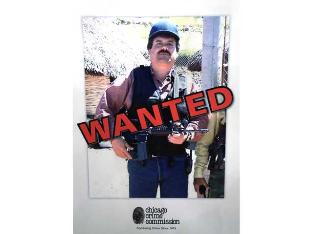 Joaquin ``El Chapo'' Guzman, a drug kingpin in Mexico, who was deemed Chicago's Public Enemy No. 1.