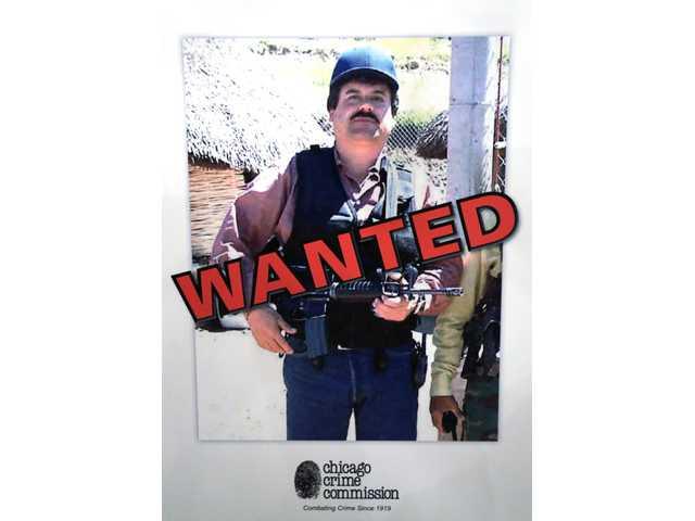 Joaquin ``El Chapo'' Guzman, a drug kingpin in Mexico, who was deemed Chicago's Public Enemy No. 1.