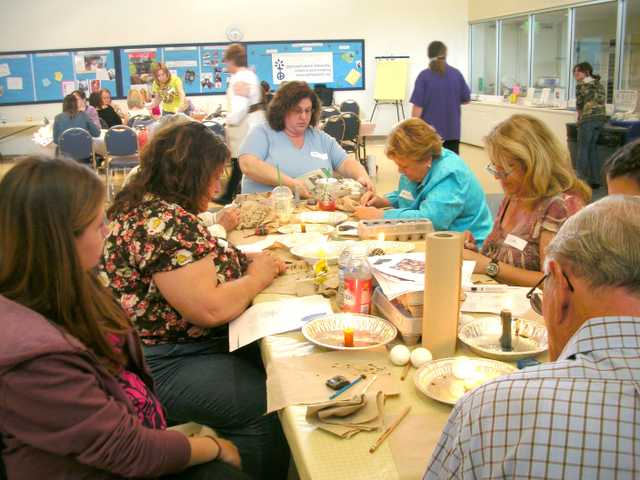 The fifth annual Pysanky making class will be held Sunday, March 10 at St. Stephen's Episcopal Church in Valencia. (Courtesy)