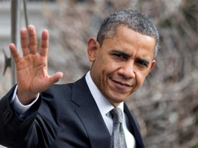 President Barack Obama waves as he leaves the White House in Washington. Obama and congressional Republicans made no progress last week in heading off $85 billion in budget-wide cuts that automatically start taking effect March 1.
