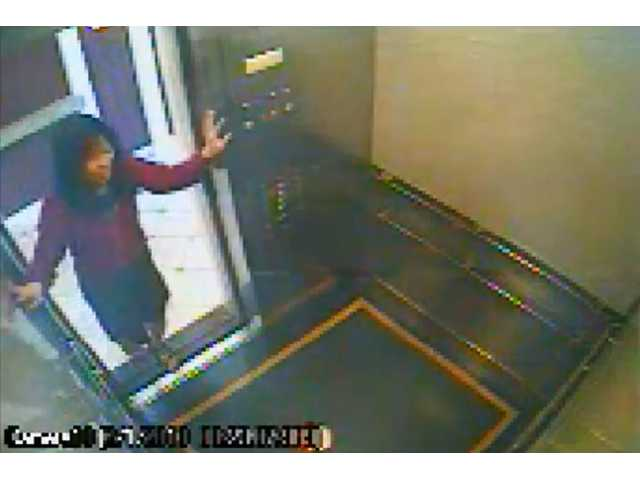 This image taken from a security video shows the 21-year-old missing Canadian tourist Elisa Lam. Lam was found dead Tuesday.