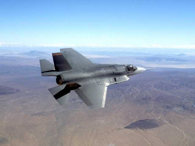The fleet of F-35 fighter jets were grounded after a cracked engine blade was discovered in a routine inspection at Edwards Air Force Base, California.
