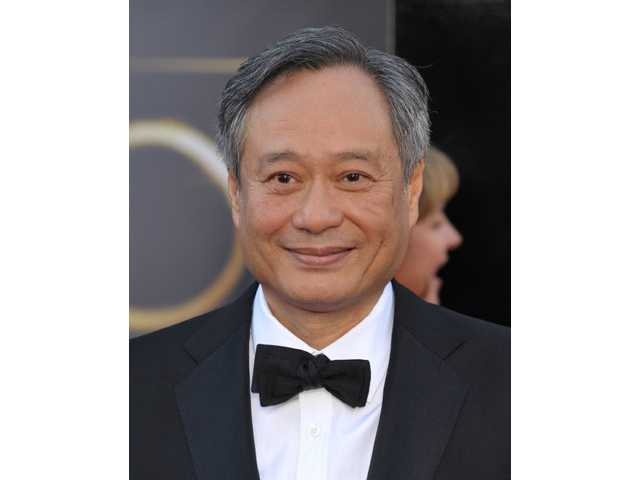 Director Ang Lee arrives at the Oscars at the Dolby Theatre on Sunday.
