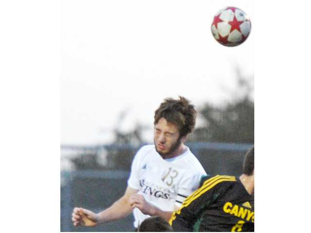Valencia senior Jake Veiga was selected as the Foothill League boys soccer Player of the Year by the league's coaches.