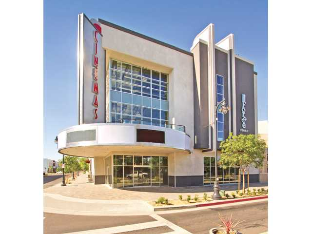 A Laemmle luxury movie theater, with reclining chairs, dinner options, wine and beer, opened in Lancaster in August 2011. The Lancaster theater, however, opened with the help of a redevelopment agency and San Fernando Valley-based developer.