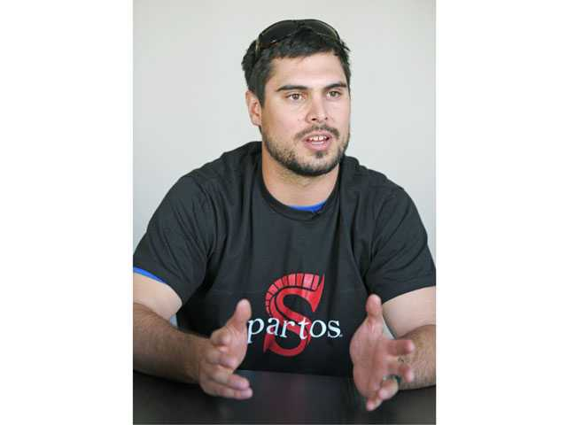 Hart High graduate and NFL quarterback Matt Moore speaks with The Signal about a blood drive he and Spartos, a company he is a partner in, will hold Saturday.