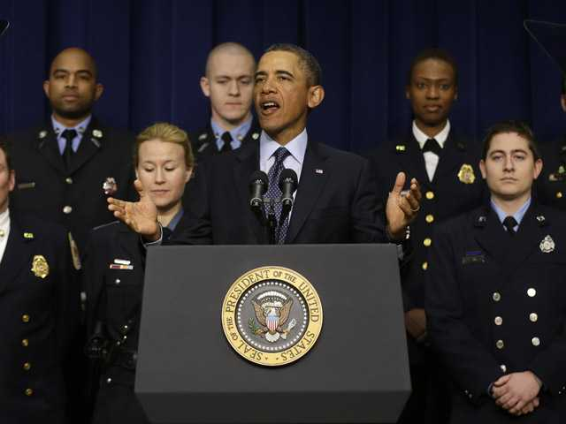 In this Tuesday, Feb. 19, 2013 file photo, President Barack Obama speaks at the White House.