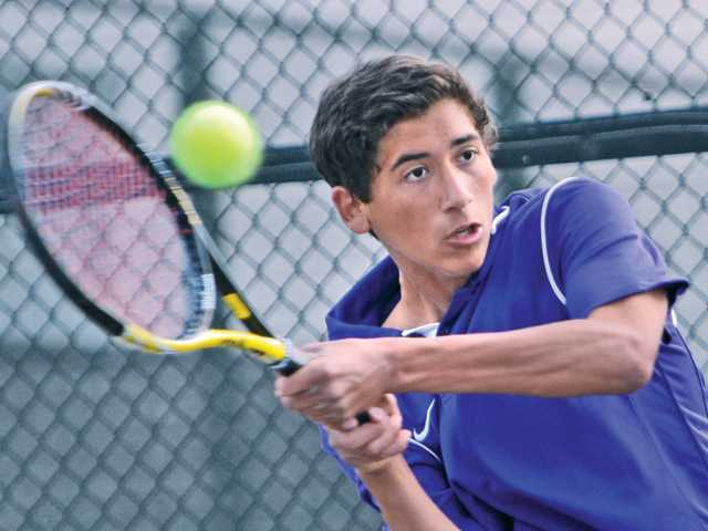 Valencia boys tennis downs Camarillo
